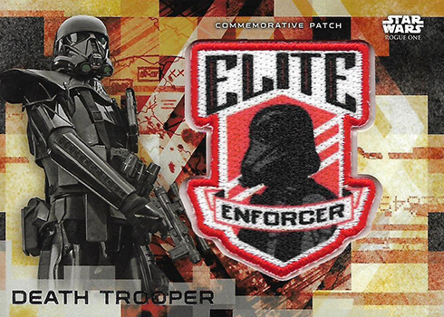 2017 Topps Rogue One Series 2 Commemorative Patch