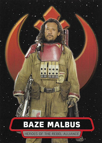 2017 Topps Rogue One Series 2 Heroes of the Rebel Alliance