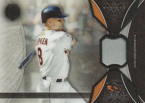 2017 Topps Tribute Baseball Tribute Relics Cal Ripken
