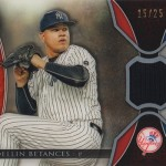 2017 Topps Tribute Betances Relic