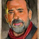 2017 Topps Walking Dead Season 7 Sketch Card