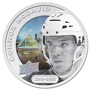 2017 Upper Deck Grandeur Hockey Coins Connor McDavid