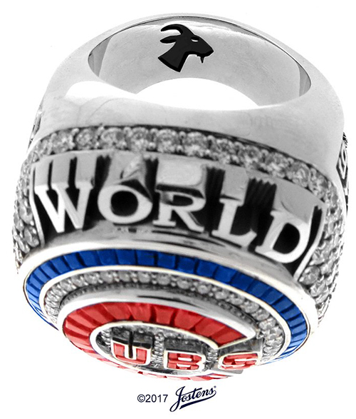 Chicago Cubs 2016 World Series Ring C