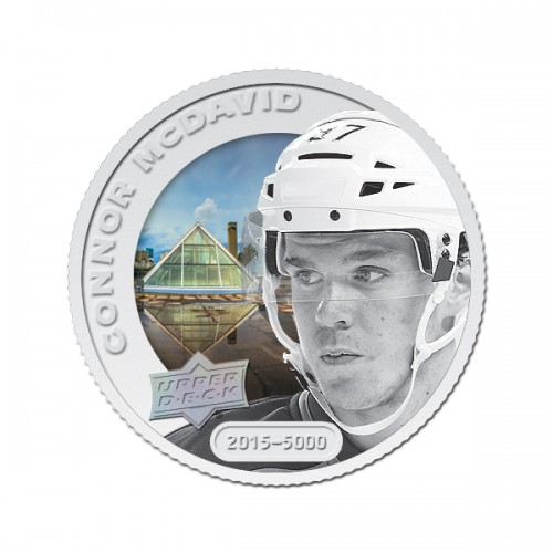 Connor McDavid Silver Basic Coin_F12D