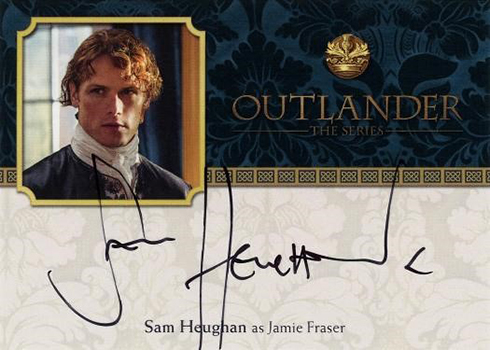 Cryptozoic Outlander Season 2 Jamie Autograph
