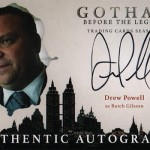 Gotham Season 2 Autographs Drew Powell