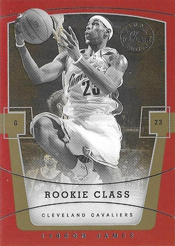 03-04 Flair Final Edition LeBron