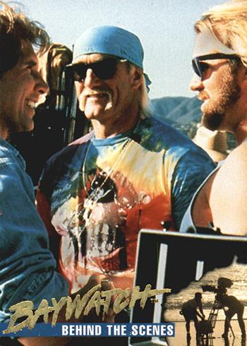 1995 Sports Time Baywatch Base 60 Hulk Hogan