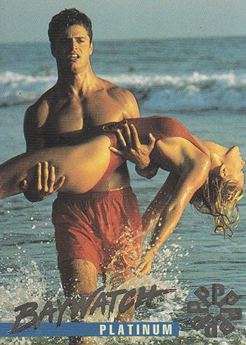 1995 Sports Time Baywatch Platinum