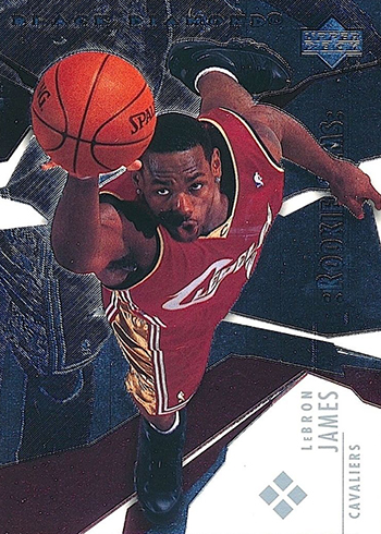 2003-04 Black Diamond LeBron James Rookie Card