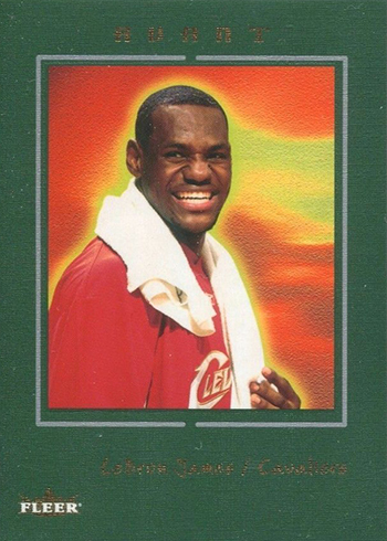 2003-04 Fleer Avant LeBron James RC