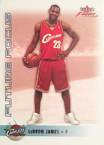 2003-04 Fleer Focus LeBron James RC