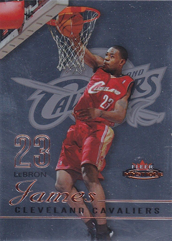 2003-04 Fleer Mystique LeBron James