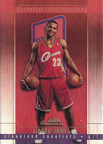 2003-04 Fleer Showcase LeBron James