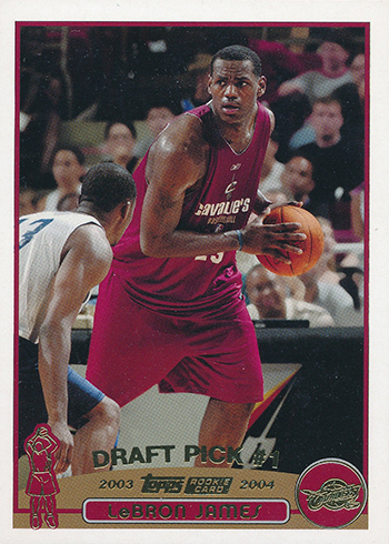 2003-04 Topps Collection LeBron James