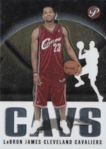 2003-04 Topps Pristine LeBron James