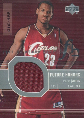 2003-04 Upper Deck Honor Roll LeBron James RC