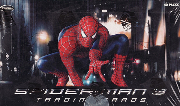 2007 Rittenhouse Spider-Man 3 Box