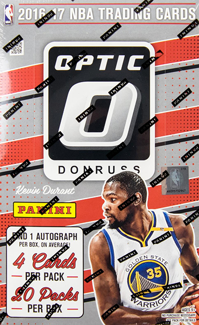2016-17 Donruss Optic Basketball Hobby Box
