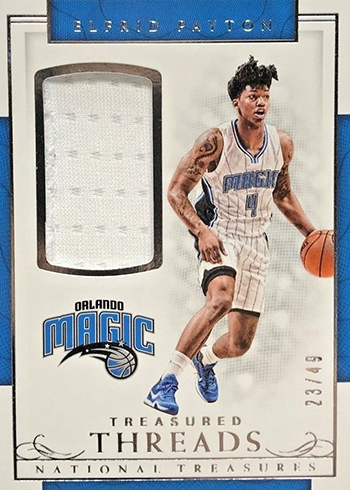 2016-17 Panini National Treasures Basketball Treasured Threads Elfrid Payton