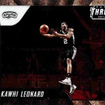 2016-17 Panini Threads Basketball Swingmen Kawhi Leonard