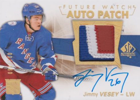 2016-17 SPA Future Watch Auto Patch Jimmy Vesey