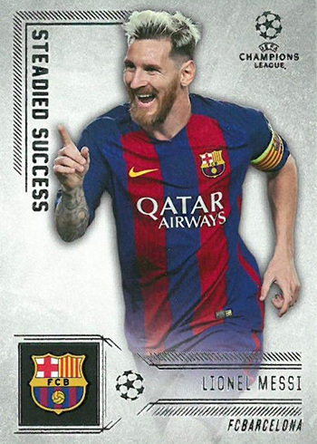 2016-17 Topps UEFA Champions Steadied Success