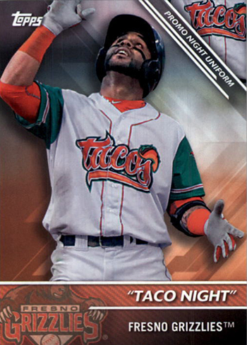 2016 TPD PNU-18 Fresno Grizzlies Taco Night