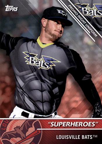 2016 TPD PNU-4 Louisville Bats Superheroes