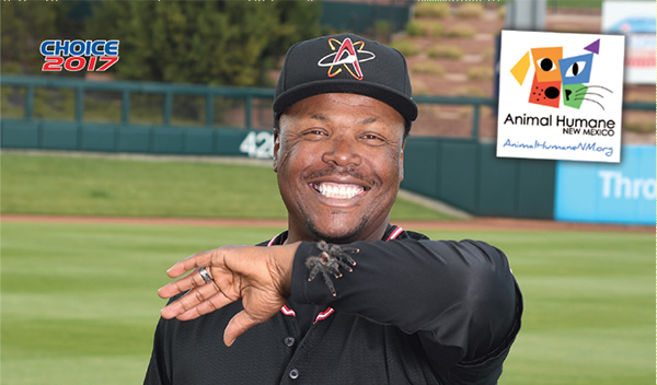 2017 Albuquerque Isotopes Choice Glenallen Hill header