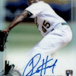 2017 Bowman Baseball Chrome Rookie Autograph Refractor Cotton