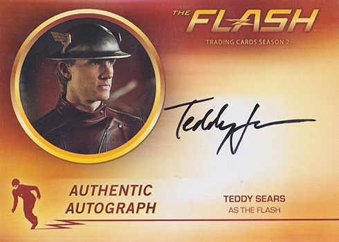2017 Cryptozoic Flash Season 2 Autographs Teddy Sears The Flash