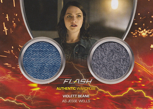 2017 Cryptozoic Flash Season 2 DM2 Violett Beane as Jesse Wells