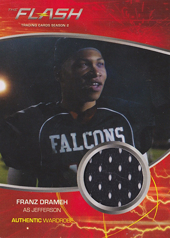 2017 Cryptozoic Flash Season 2 M05 Franz Drameh as Jefferson