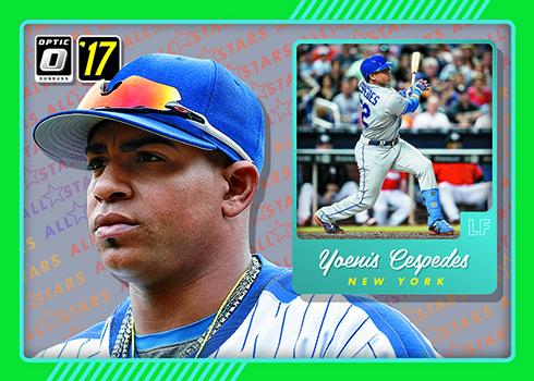 2017 Donruss Optic Baseball All-Stars Green