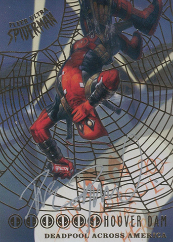 2017 Fleer Ultra Spider-Man Deadpool Across America Autographs Dave Dorman