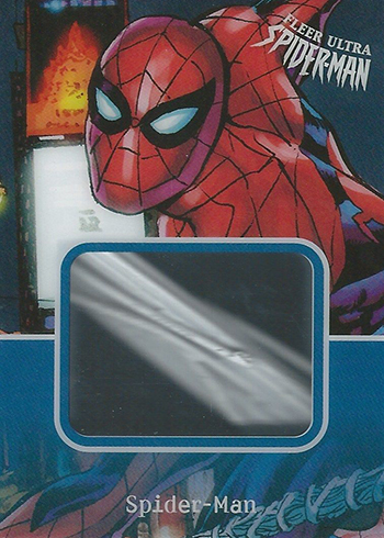 2017 Fleer Ultra Spider-Man Manufactured Webbing