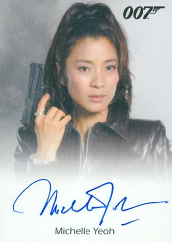 2017 James Bond Archives Autographs Full Bleed Michelle Yeoh