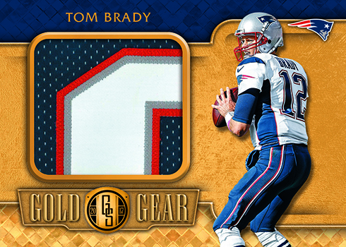 2017 Panini Gold Standard Football Gold Gear Prime