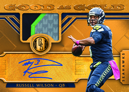 2017 Panini Gold Standard Football Good As Gold