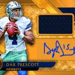 2017 Panini Gold Standard Football Rookie Jersey Auto
