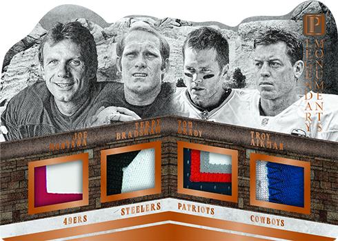2017 Panini Pantheon Football Legendary Monuments