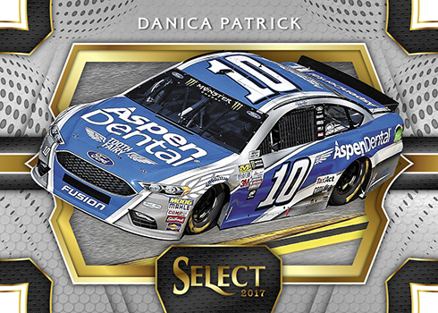 2017 Panini Select Racing Base Pit Pass