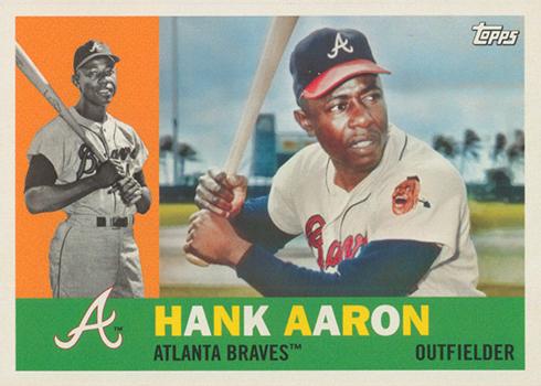 2017 TA Var 50 Hank Aaron