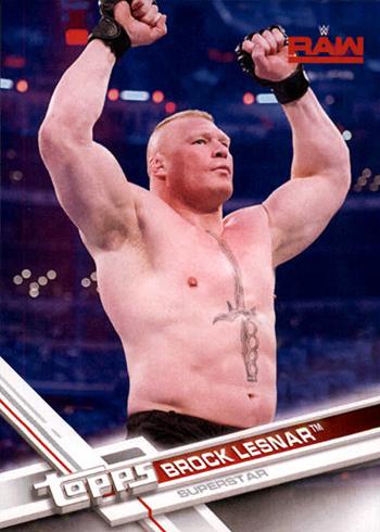 2017 TWWE 10 Brock Lesnar