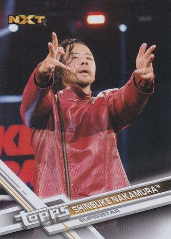 2017 TWWE Var Shinsuke Nakamura