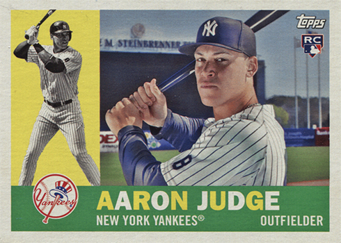 2017 Topps Archives Aaron Judge RC
