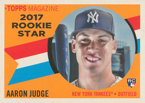 2017 Topps Archives Baseball 1960 Rookie Stars Aaron Judge