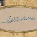 2017 Topps Five Star Baseball Cut Signature Ted Williams