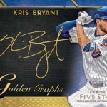2017 Topps Five Star Baseball Golden Graphs